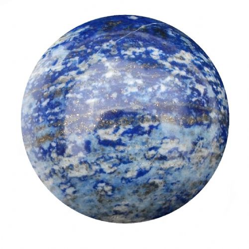 Lapis Lazuli Fortune Telling Crystal Ball Divination Sphere 53mm 220g (LB23)